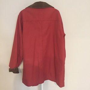 L.L. Bean Jackets & Coats - L.L. Bean Adirondack coral barn coat M